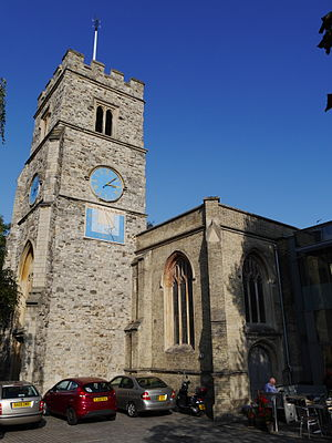 Inclusive Church - The meeting that led to the creation of Inclusive Church was held at St Mary's, Putney, in 2003.