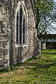 St Mary's Church, Stapleford Tawney, Essex, England ~ nave west wall.jpg