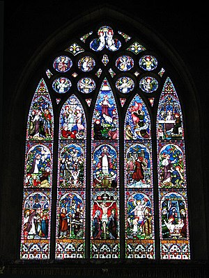 Frederick Preedy - East window of St Mary's Church, Old Hunstanton