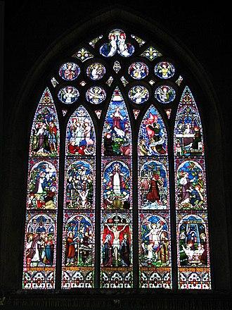 Frederick Preedy - East window of St Mary's Church, Old Hunstanton