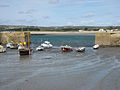 St Michael's Mount harbour wall opening.jpg