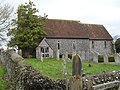 St Nicholas, Houghton- from the south - geograph.org.uk - 1734766.jpg