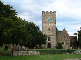 St Nicholas church, Boughton Malherbe.jpg