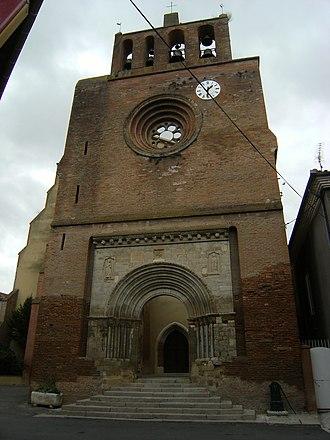 Belpech - Facade of St. Saturnin