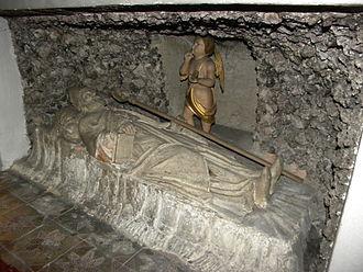 Maximilian of Lorch - Grave of Saint Maximilian in Celje, Slovenia