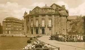 1907 in architecture - Stadttheater Düren