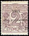 StampSanMarino1917Michel50.jpg