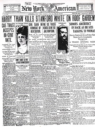 New York Journal-American - Image: Stanford White 33