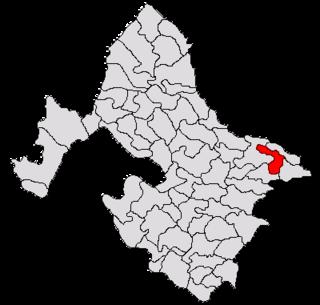 Stângăceaua Commune in Mehedinți, Romania