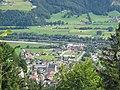 Stans (Tyrol) from N, 'Herz Jesu' church.jpg