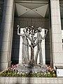 Statue at Gov Bldg. Tokyo, Japan.jpg