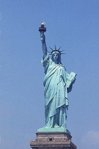 Sculpture of the United States - Statue of Liberty, the common name of Liberty Enlightening the World