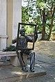 Statue of an artist Tzanko Lavrenov, Plovdiv.jpg