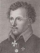 Friedrich de la Motte-Fouqué (Stich von L. Staub) (Quelle: Wikimedia)