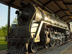 Nashville, Chattanooga and St. Louis Railway - NC&StL steam locomotive 576 at Centennial Park, Nashville, Tennessee