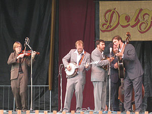 Steep Canyon Rangers - Steep Canyon Rangers at Del McCoury's DelFest in 2009