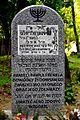 Stefan Władysław (grób), Paweł Frenkel (grób symboliczny) 01.jpg