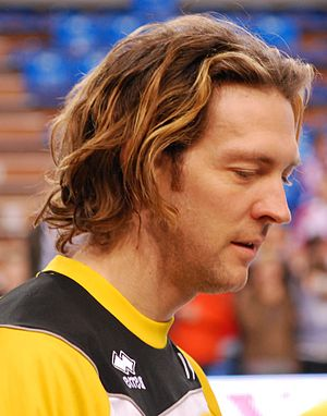 Stéphane Antiga - As the PGE Skra Bełchatów player in season 2009/2010.
