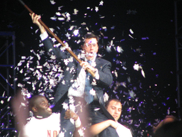 Stephen Colbert at FSU Pow Wow.jpg