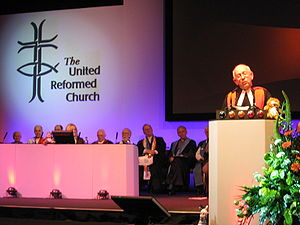 Moderator of the General Assembly - Stephen Orchard, Moderator of the General Assembly of the United Reformed Church, 2007.