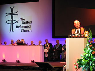 Moderator of the General Assembly - Stephen Orchard, Moderator of the General Assembly of the United Reformed Church, 2007