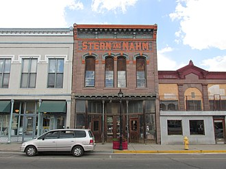 National Register of Historic Places listings in San Miguel County, New Mexico - Image: Stern and Nahm, Bridge Street, Las Vegas NM