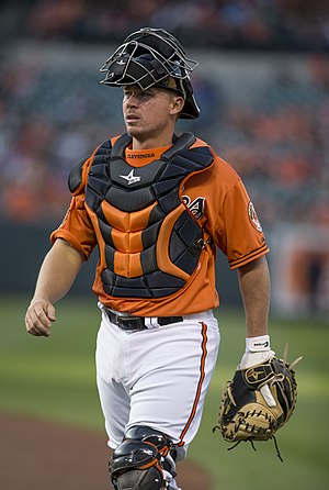 Steve Clevenger - Clevenger with the Baltimore Orioles
