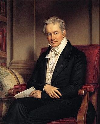 Alexander von Humboldt - Portrait by Joseph Karl Stieler (1843)