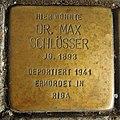 Stolperstein Ahaus Wallstraße 3 Max Schlösser.jpg