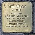 Stolperstein Alexanderplatz 2 (Mitte) Otto Bülow.jpg