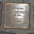 Stolperstein Bad Münstereifel Orchheimer Straße 22 Karoline Wolff.jpg