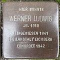 Stolperstein Bocholt Feldstraße 9 Werner Ludwig.jpg