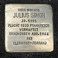 Stolperstein Falkensteiner Straße 1 Julius Simon.jpg