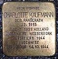 Stolperstein Kleve Herzogstraße 1 Charlotte Kaufmann.jpg