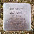 Stolperstein Leo Cahn (Am Staden 30, Saarbrücken).jpg