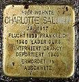 Stolperstein Wielandstr 15 (Charl) Charlotte Salomon.jpg