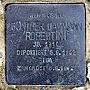 Stolperstein Wissmannstr 17 (Grune) Günther Dammann.jpg