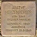 Stolperstein für Agathe Herzenberger (Salzburg).jpg