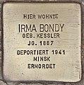 Stolperstein für Irma Bondy (Salzburg).jpg