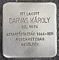 Stolperstein für Karoly Darvas (Szeged).jpg