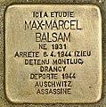 Stolperstein für Max-Marcel Balsam (Belley).jpg