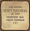 Stolperstein für Sidney Rosenthal (Cottbus).jpg
