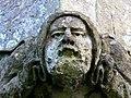 Stone face, Holy Cross church, Chiseldon, Swindon - geograph.org.uk - 1119711.jpg