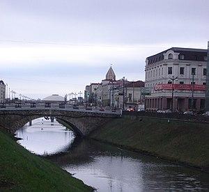 Lev Khrshchonovich - The bridge over Bolaq by Lev Khrshchonovich (1907)
