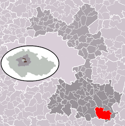 Location of the town.