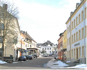 Perl, Saarland - A road in Perl