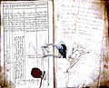 Subačiaus RKB 1832-1838 krikšto metrikų knyga 152.jpg