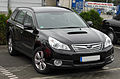 Subaru Outback IV 2.0D AWD Active front 20101017.jpg