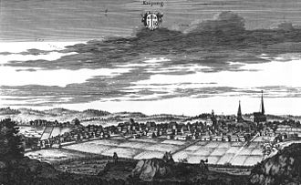 Köping, Sweden - Köping in Suecia antiqua et hodierna.