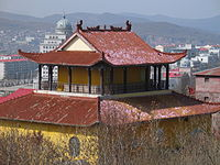 Suifenhe (view from the temple Guanlin).jpg